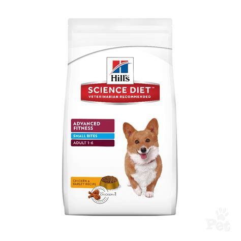science diet puppy small bites hill s science diet advanced fitness small bites