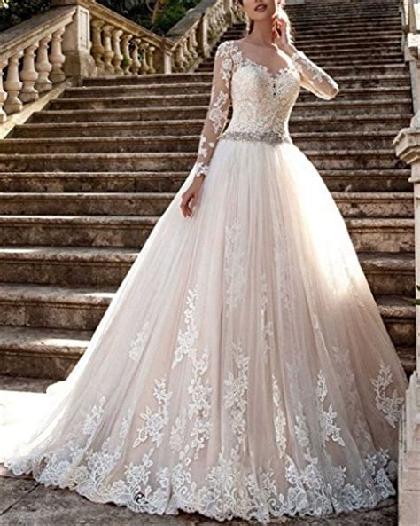 Cardol 2017 Women's Lace Wedding Dresses Bridal Gowns Long