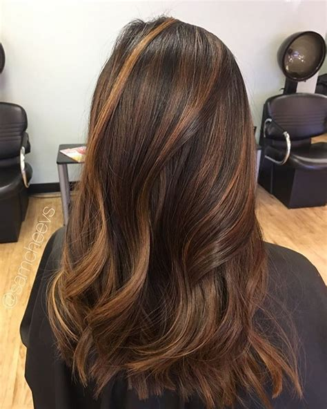 Types Of Highlights For Brown Hair by 25 Best Ideas About Highlights For Black Hair On