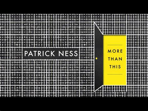more than this 1406331155 more than this amazon co uk patrick ness 9781406331158