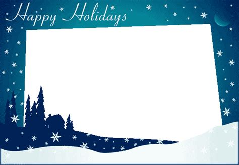 happy holidays template winter season coloring part 2