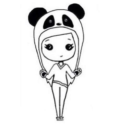 chibi panda coloring pages 310 best chibi forms images on pinterest