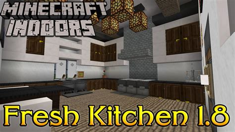 minecraft interior design kitchen minecraft indoors interior design fresh kitchen 1 8