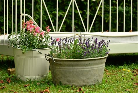cheerful and cheap garden containers sensible gardening - Cheap Containers For Gardening