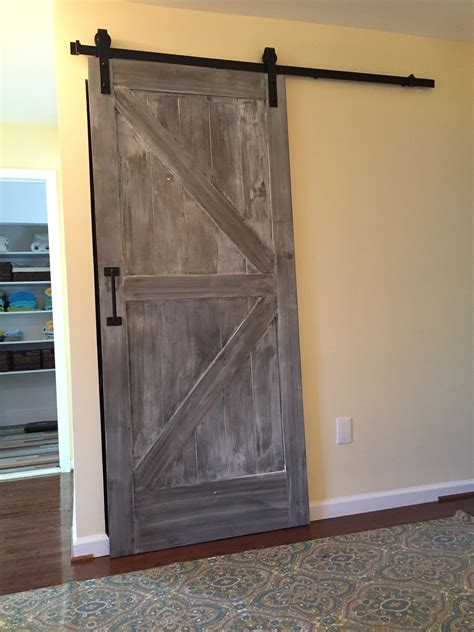 custom home add ons storage sliding barn door va