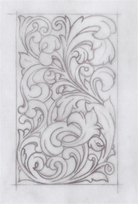 drawing pattern on leather 17 best images about pattern for carving on pinterest