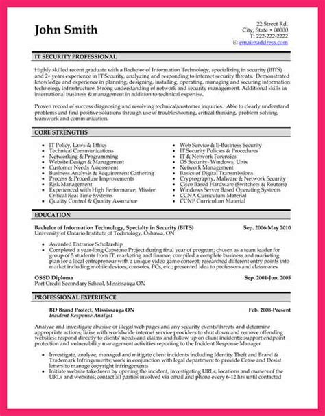 network security resume format network security sle resume stonelonging cf