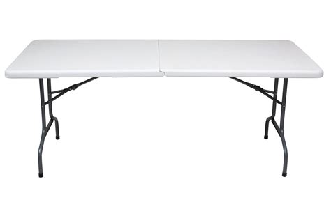 10 foot folding table white folding table flash furniture bifold plastic