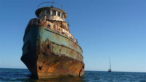 imagenes naufragios barcos descubre hogsty reef el arrecife de los barcos hundidos