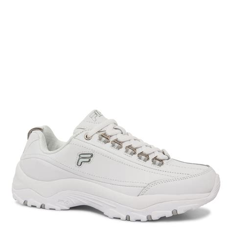 athletic shoes for wide fila s memory proficient athletic shoe white wide