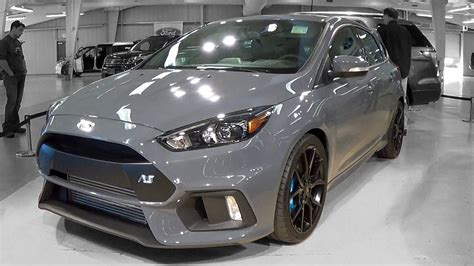 focus rs colors 2016 ford focus rs walkaround