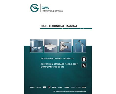 gwa kitchens and bathrooms new technical care manual from gwa bathrooms and kitchens