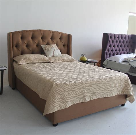 double bed headboard designs the hottest fabric furniture for latest double bed frame