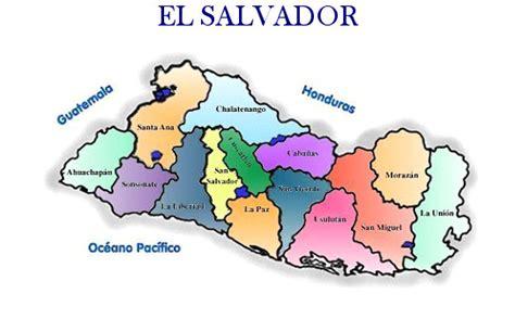 el salvador en el mapa mundi pueblos vivos el mapa de el salvador