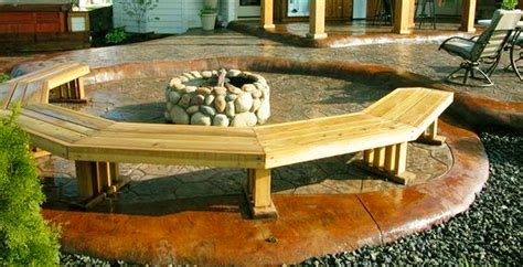 outdoor curved fire pit bench curved bench around fire pit benches
