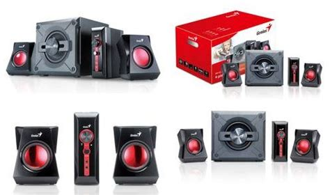 Speaker Genius Sw G 2 1 1250 genius reveals sw g2 1 1250 gaming speakers