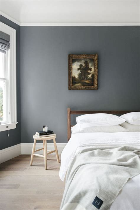 blue gray schlafzimmer paint blissful corners lone bliss bedroom wall color