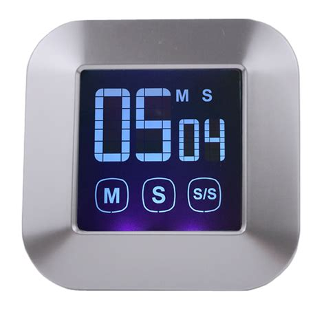 Timer Counter Digital aliexpress buy free shipping touch screen large digital lcd timer digital kitchen timer