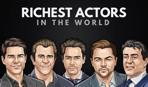 world richest film actor list the top 20 richest actors in the world 2019 wealthy gorilla