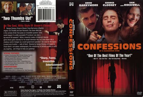 Confessions Of A Shopaholic Type Dvd 1 confessions of a dangerous mind 2002 ws r1 dvd