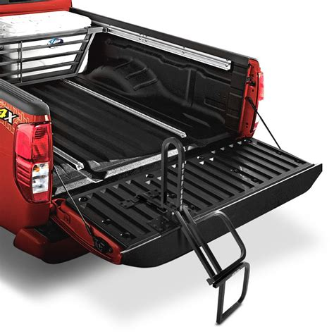truck bed step convert a ball 174 sg2r stepgate double tailgate step
