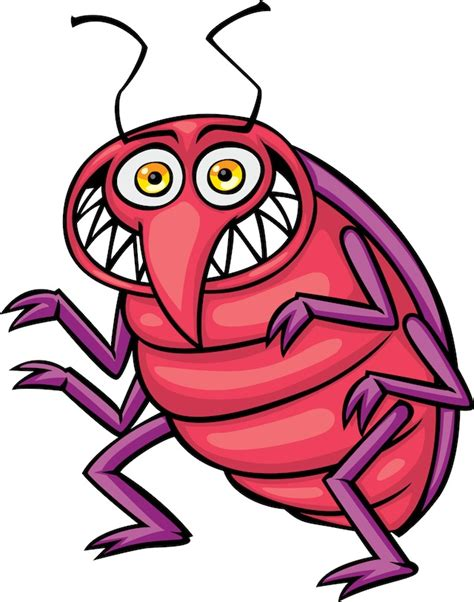 Bed Bug Photos, Clipart Images & Pics: What do Bed Bugs ... Insect Drawings Clip Art