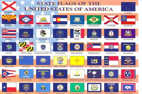 flags of the world usa all 50 state flags all 50 state flags of the united
