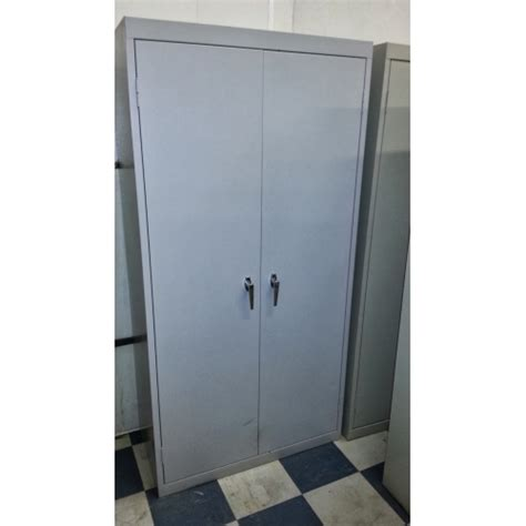 Vertical Storage Cabinet 2 Door Vertical Storage Cabinet 36x18x72 Quot Allsold Ca Buy Sell Used Office Furniture Calgary