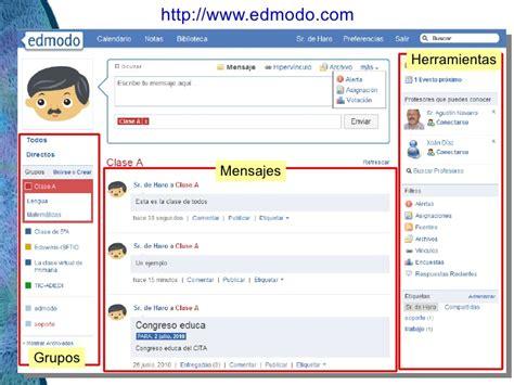 edmodo rc aplicaciones pr 225 cticas de las redes sociales educativas