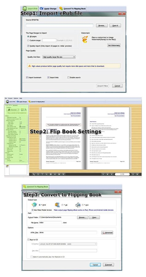 fixed layout ebook software page flipping epub customize epubs to amazing page
