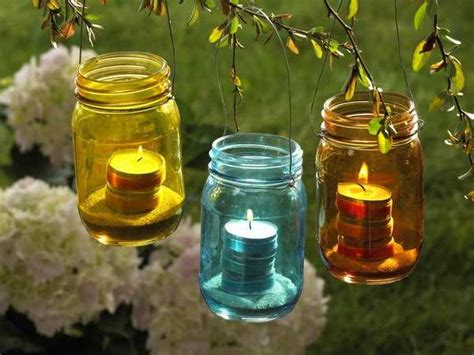 garden lights decorations recycled crafts turning clutter into creative