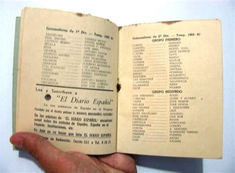 Calendario De 1961 Antiguo Calendario Espa 241 A Uruguay Deportes Futbol 1960
