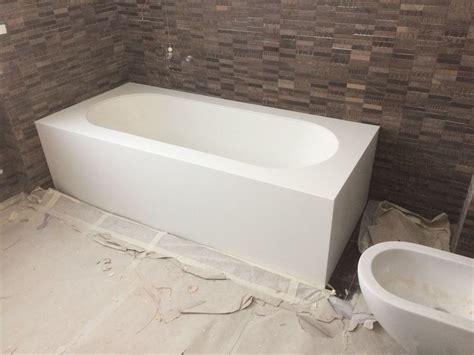 vasca corian vasca da bagno su misura in corian 174 deth it opera nel