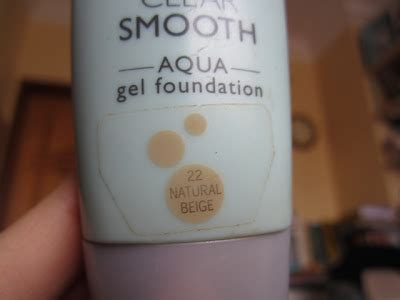 Maybelline Aqua Gel Foundation the blackmentos box review maybelline clear