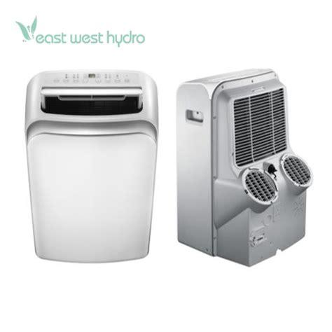 ideal air dual hose portable air conditioner  btu  eastwesthydro