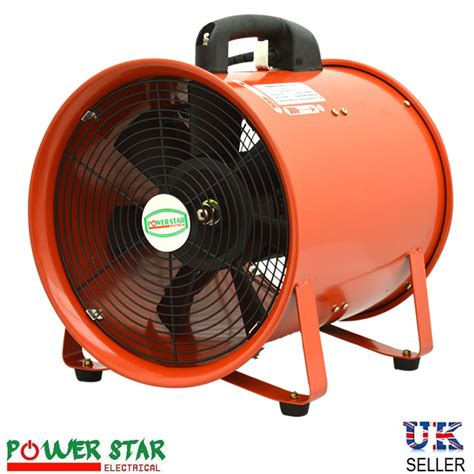industrial exhaust fan motor industrial portable ventilation fan air mover metal axial