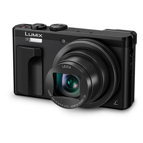 panasonic dmc panasonic dmc zs60 lumix digital zs60 black b h photo