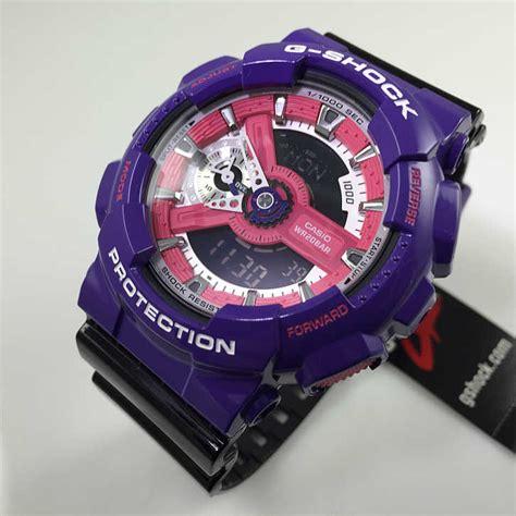 Jual Thermometer Citizen casio g shock digital analog purple black ga110nc 6a