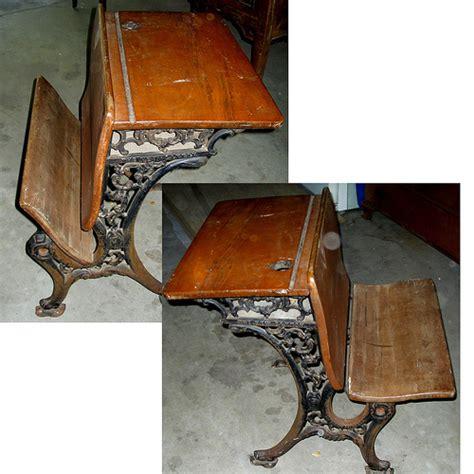 Antique School Desk by Photo