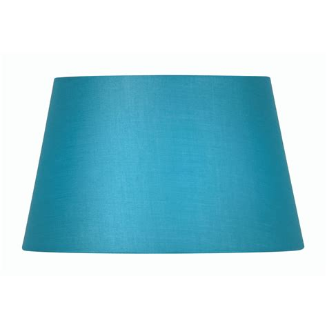 20 inch l shade blue cotton drum l shade 20 inch s901 20bl oaks lighting