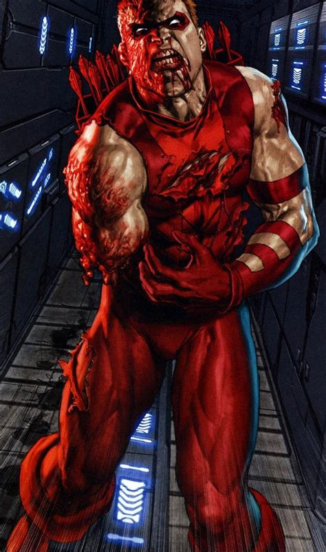 top  dc characters   lost  arm appendage  limb