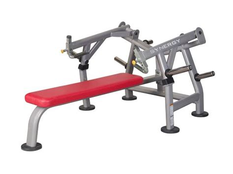 plate loaded bench press synergy 2 synergy fitness