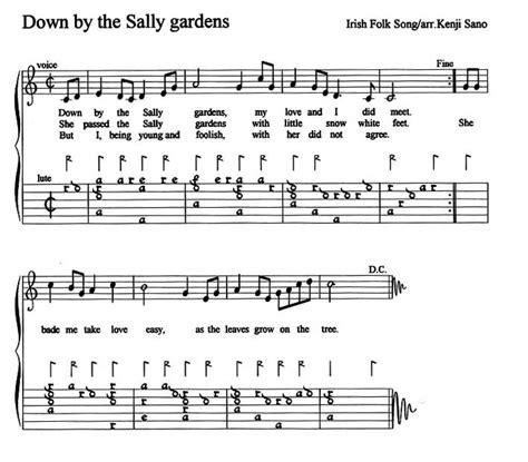 By The Sally Gardens by Sally Gardens