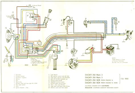 wiring diagrams digital ignition vintage motorcycle