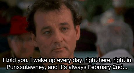 groundhog day saying bill murray stripes quotes quotesgram