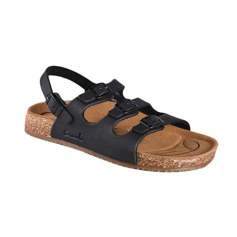 Sepatu Wanita Carvil Carisa Black jual carvil sandal footbed khanza 10 sandal wanita black