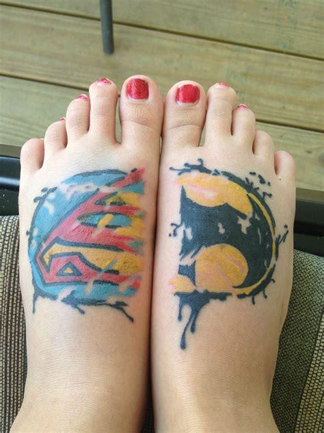 batman autism tattoo batman superman feet tattoo tattoos pinterest tattoo