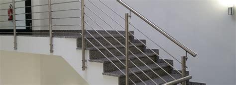 treppengeländer aus edelstahl treppengel 228 nder aus edelstahl nappenfeld edelstahl