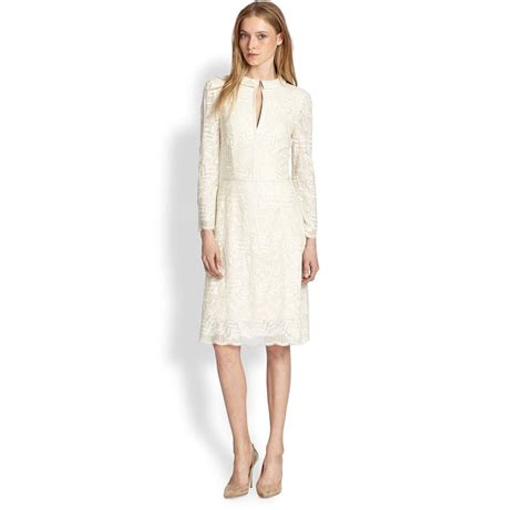 Get A Matching Marc By Marc Dress And Umbrella marc by marc lancaster white lace dress get