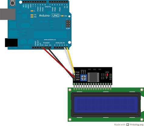 arduino uno i2c lcd tutorial arduino mega lcd wiring diagram components